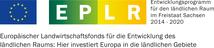 Bild: Logokombination Entwicklungsprogramm für den ländlichen Raum und Europäische Union