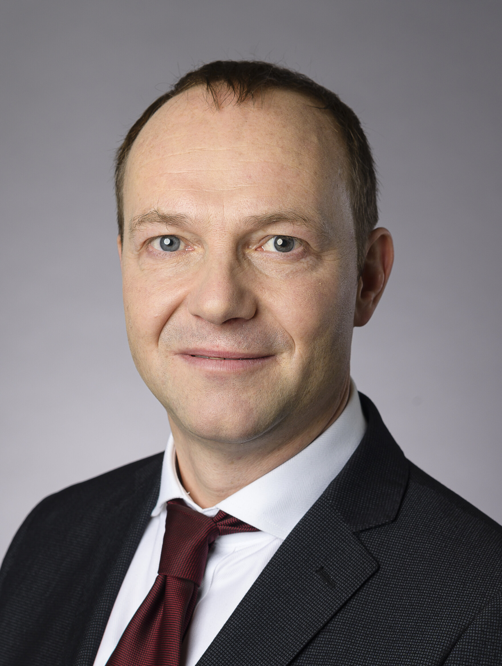 Staatsminister Wolfgang Günther